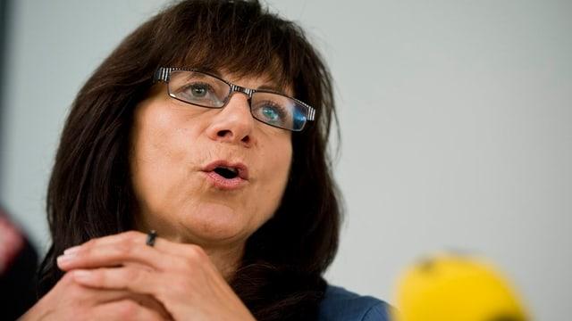 Gesundheitsdirektorin Heidi Hanselmann
