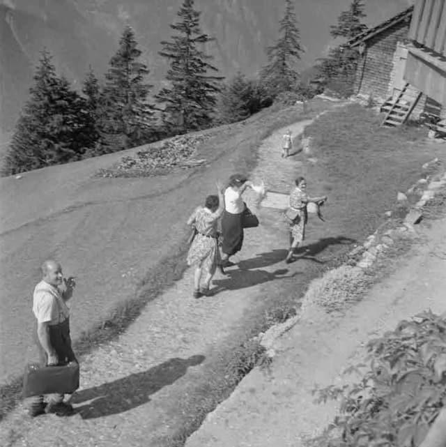 Wanderer 1942 in Erstfeld