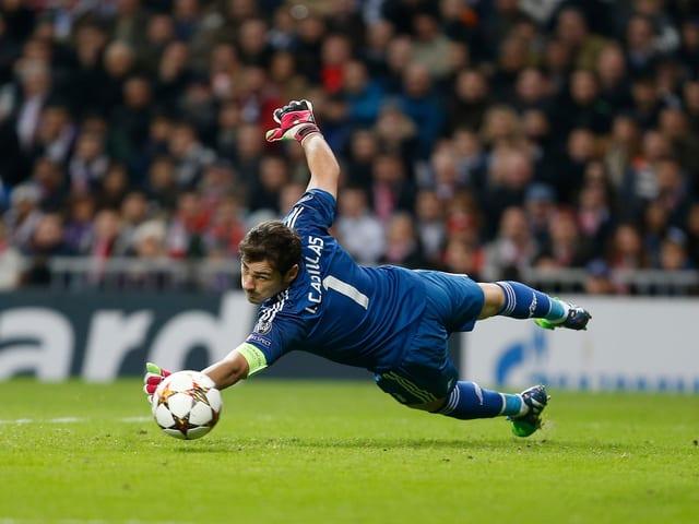 Iker Casillas mit Real Madrid.