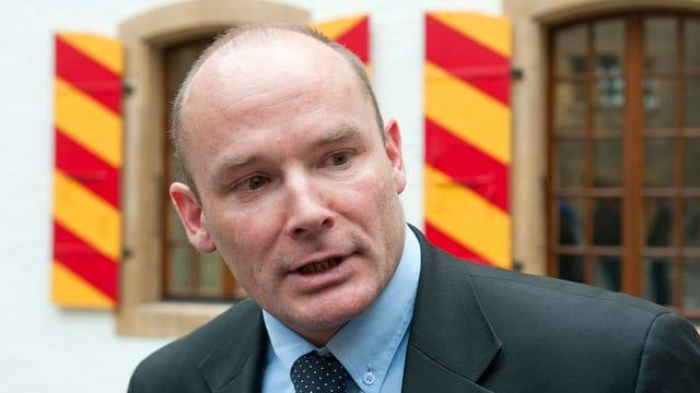 Neuenburgs neuer Staatsrat Yvan Perrin