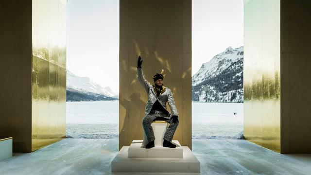 Theaterstück König im Schnee