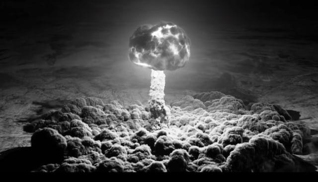 Ein Atompilz in «Twin Peaks».