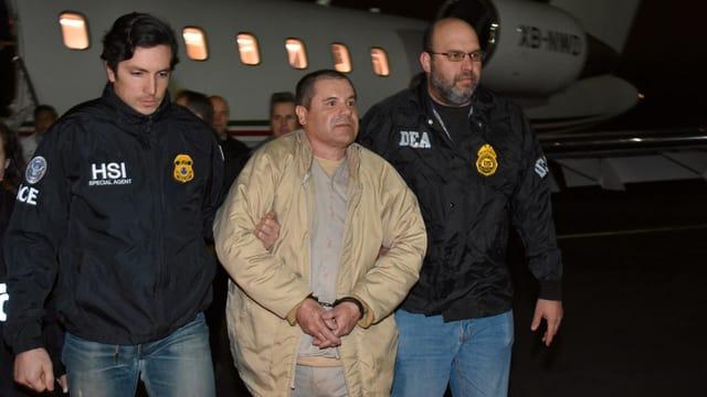 El Chapo wird an USA ausgeliefert
