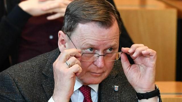 War seit 2014 Regierungschef des Freistaats: Bodo Ramelow (Linke).