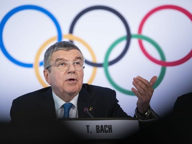 Hält weiter an der Durchführung der Olympischen Spiele fest: IOC-Präsident Thomas Bach