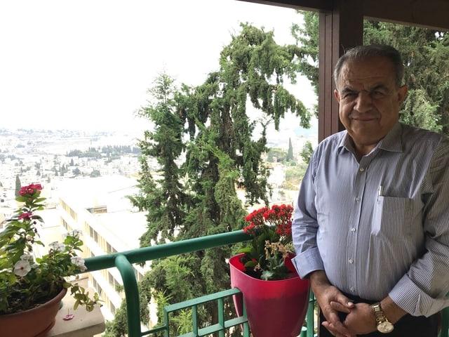 Der israelisch-arabische Polit-Kommentator Nazir Mgalli aus Nazareth.