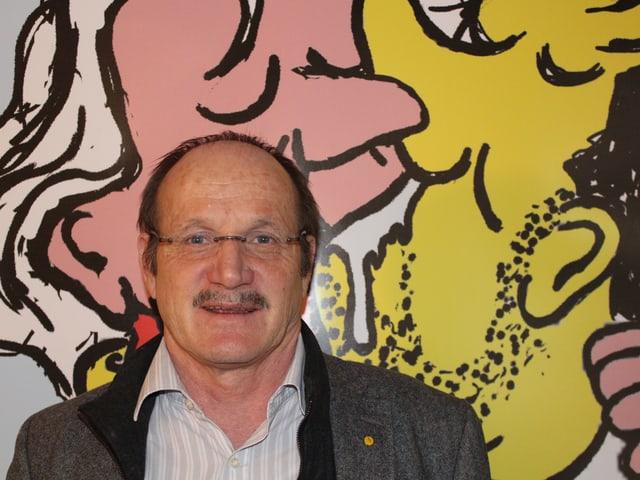 Porträt von Kurt Regotz.