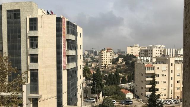 Gebäude in Ramallah