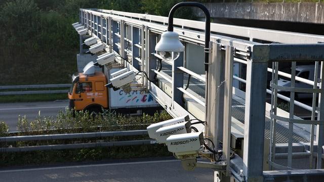cameras installadas sur in'autostrada