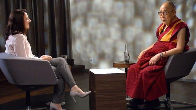 Video «Dalai Lama: «Wir müssen ganzheitlich auf das Menschsein blicken»» abspielen