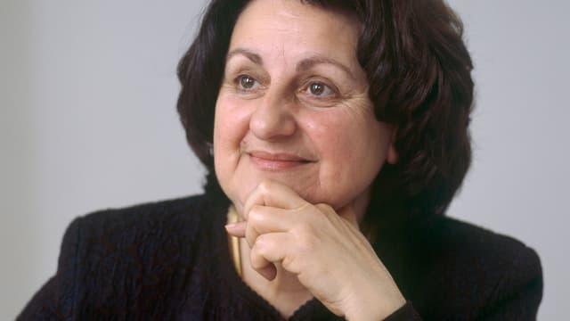 Ein Porträt von Amalia van Gent.