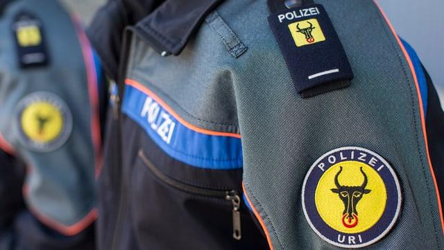 Uniform eines Polizisten der Urner Polizei.