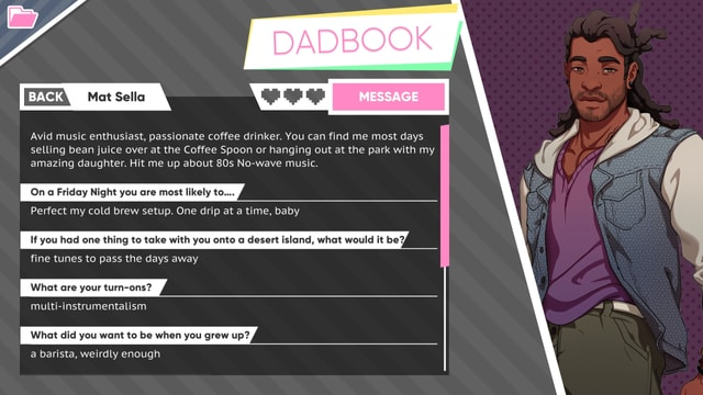 Mats Dadbook-Seite