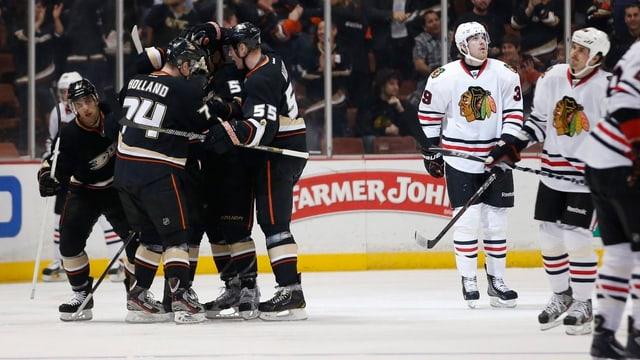 Die Anaheim Ducks kamen zum 13. Heimsieg in Folge.