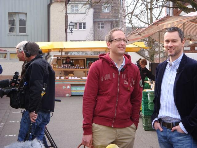 Dirk und Partner Sandro.