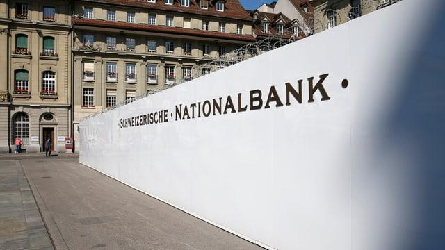 banca naziunala svizra