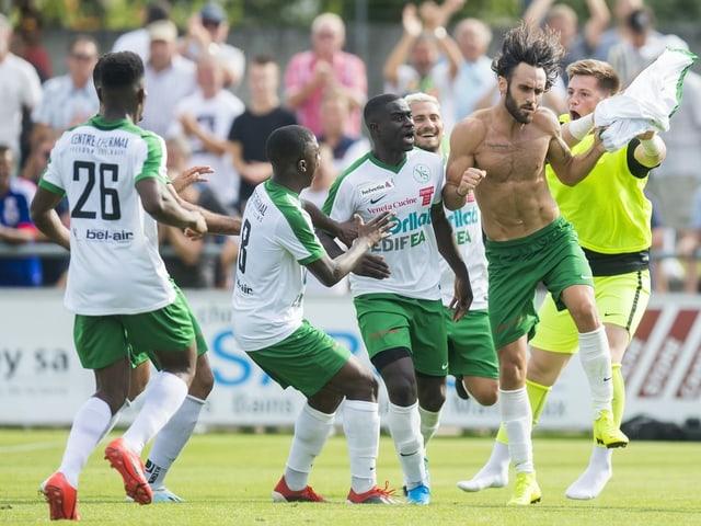 Yverdon hatte in der abgeschlossenen Promotion League 7 Punkte Vorsprung auf das zweitplatzierte Rapperswil-Jona.