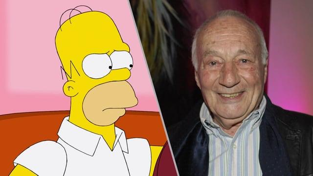 Norbert Gastell war 25 Jahre lang die Stimme von Homer Simpson.