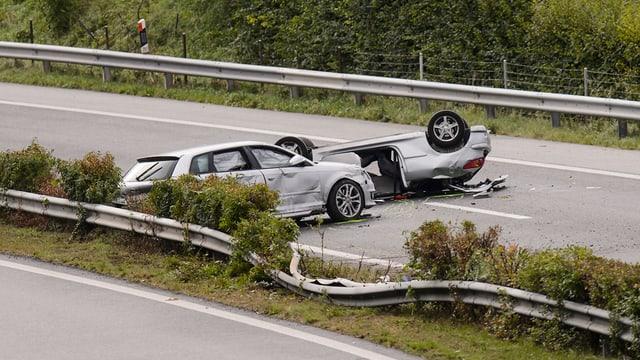 accident sin autostrada