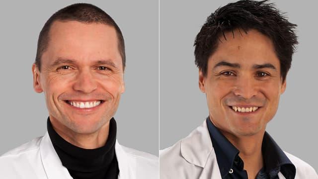 Prof. Christoph Stettler und Dr. Roman Trepp