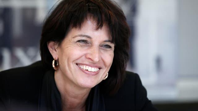 Doris Leuthard lächelt