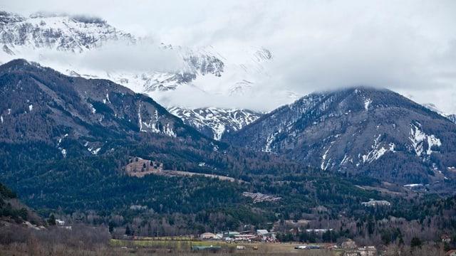 Il lieu da disgrazia dasper Seyne-les-Alpes.