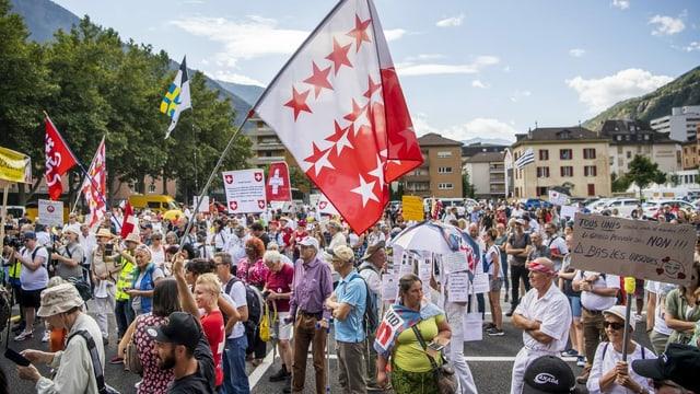 Demonstration in Brig