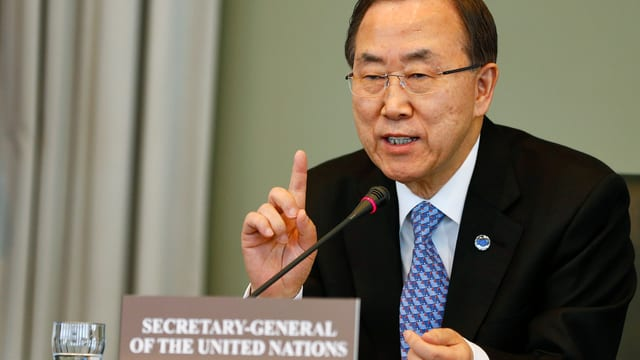 UNO-Generalsekretär Ban Ki Moon