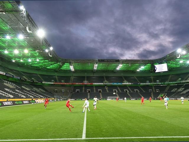 Geisterspiel in der Bundesliga