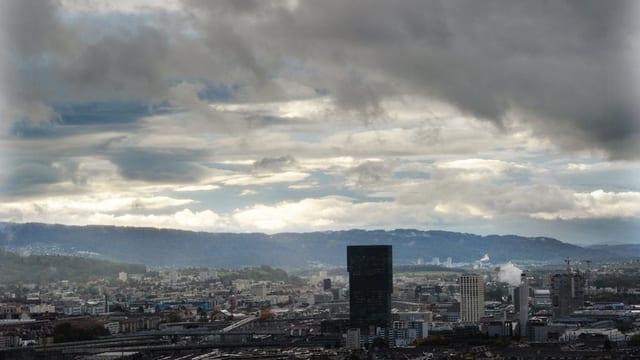 Panoramabild Stadt Zürich