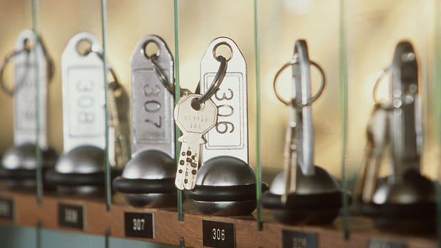 Zimmerschlüssel.