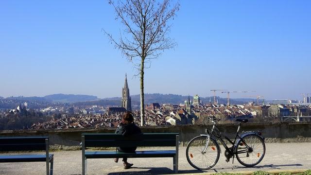 Blick über Bern.