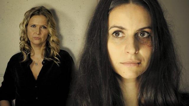 Zwei Frauen.