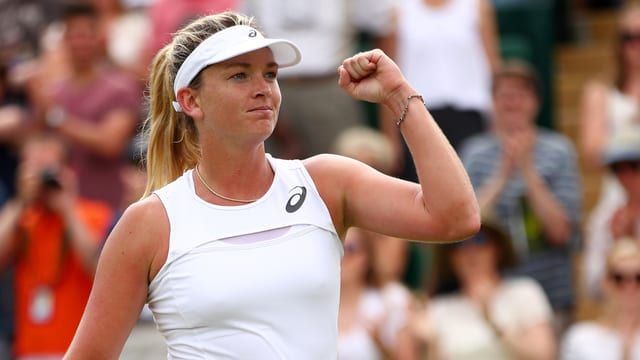 Coco Vandeweghe ist in Wimbledon bislang nicht zu stoppen.