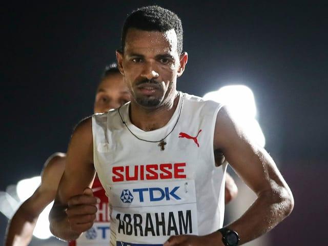 Tadesse Abraham in einem Lauf