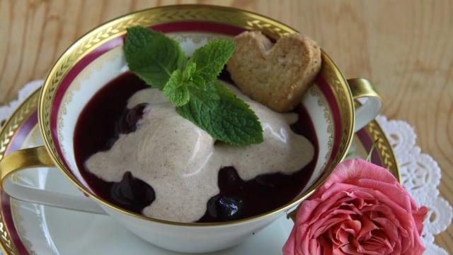 Dessert von Lotti Baumann.