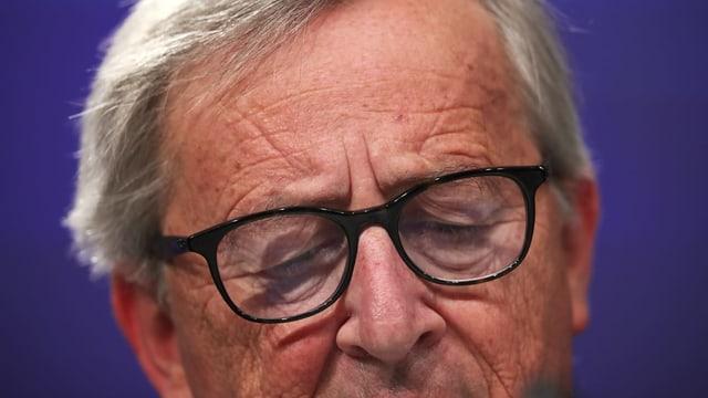 Porträt von Jean-Claude Juncker.