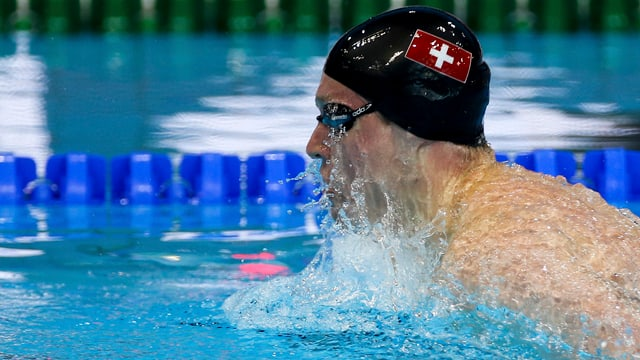 Schwimmer.