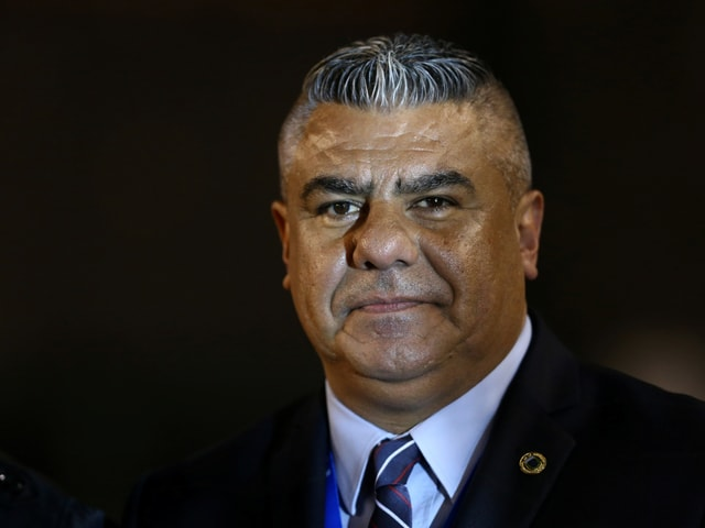 AFA-präsident Claudio Tapia.