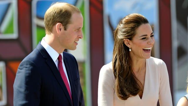 Prinz William und Kate in Adelaide.