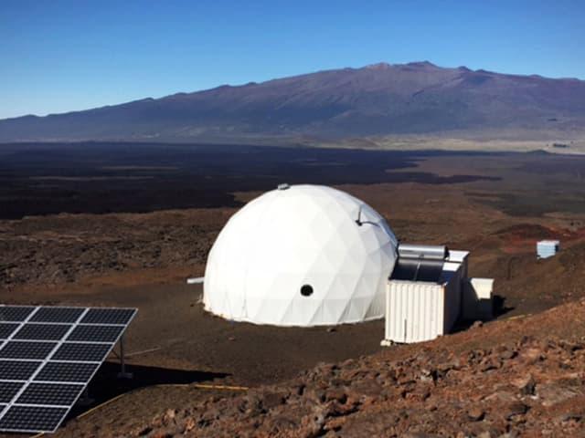 Die Mars Station auf Hawaii