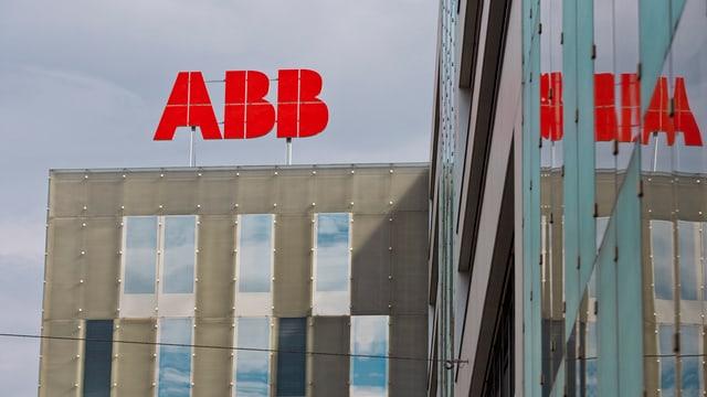 Gebäude von ABB Schweiz in Baden