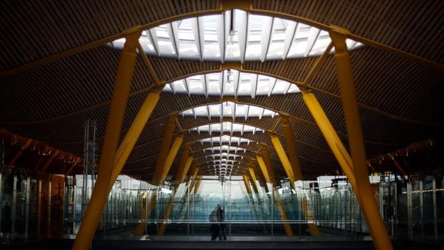 Terminal des Madrider Flughafens.