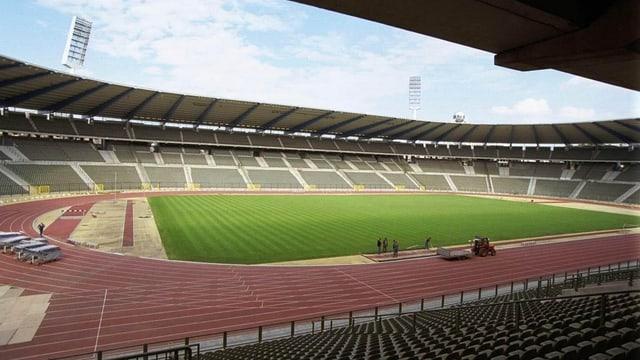 Stadion da ballape a Brüssel.
