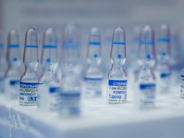 Russischer Corona-Impfstoff Sputnik V.