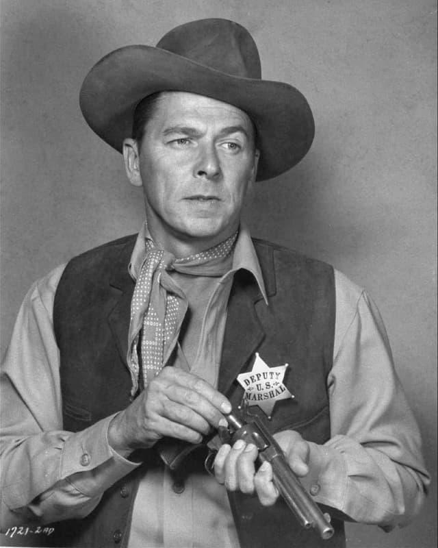Ronald Reagan als Deputy