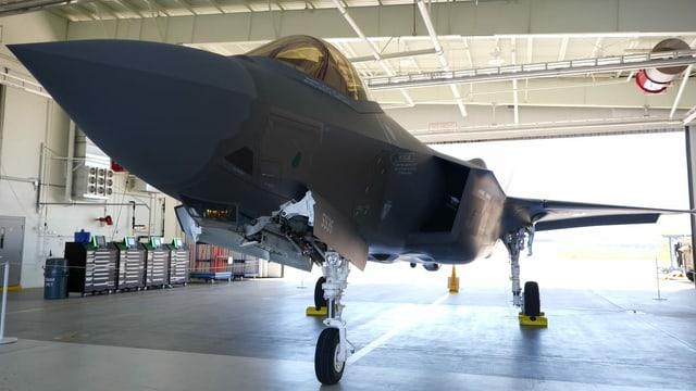 Blick auf den F-35 von unten