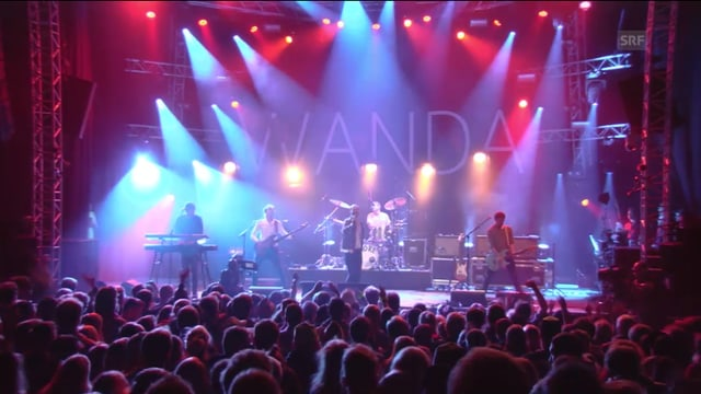 Wanda live am Gurtenfestival