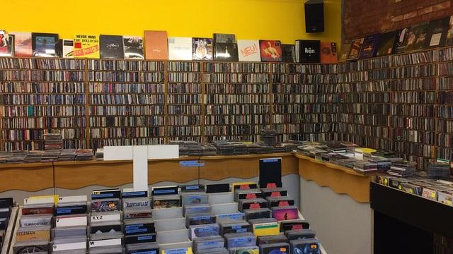 CDs im «Zero Zero» in Baden