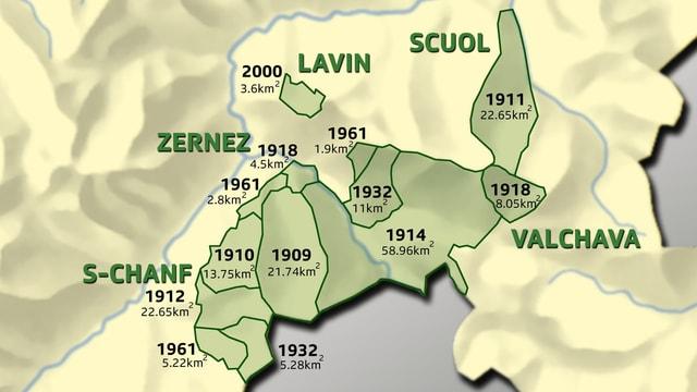 Il svilup dal Parc Naziunal Svizzer.